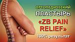 Оригинальный ортопедический китайский пластырь ZB Pain Relief (Bang De Li) , фото 7