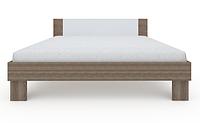 Ліжко з ДСП/МДФ в спальню Martina Z 1,8x2,0 дуб сонома Blonski