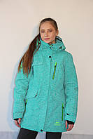 Куртка зимняя женская  Azimut  8216-92 бирюзовый код 2080А