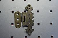 Петля декоративная (фигурная) латунь