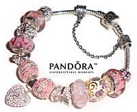 PANDORA - идеальный подарок для девушки! + серьги Dior в подарок!