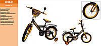 Велосипед 2-х колес STORM 16'' 181644со звонком,зеркалом,руч. тормоз