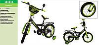 Велосипед 2-х колес STORM 16'' 181642со звонком,зеркалом,руч. тормоз