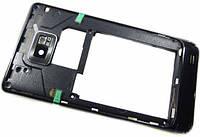 Средняя часть Samsung I9100 Black оригинальная