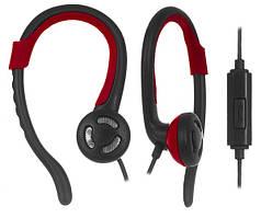 Проводная гарнитура ERGO VS-300 чёрно-красная