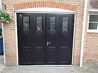 Распашные двустворчатые гаражные ворота Ryterna, фото 1