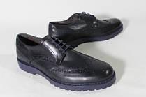 Итальянские мужские кожаные туфли броги.