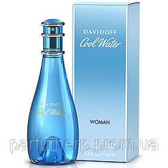 Davidoff Cool Water (100мл), Женская Туалетная вода  - Оригинал!