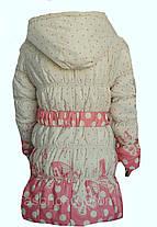 Куртка демисезонная горох, фото 2