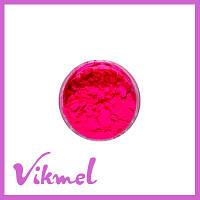 Пигменты для дизайна ногтей ярко-розовый