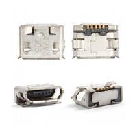 Конектор зарядки Nokia 6500c, 7900, 8600, 8800 Arte; Sony Ericsson W100, X10 mini (High Copy)
