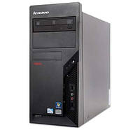 Системный блок Lenovo M58P. Intel Core 2 Quad Q8400 4x2.66Ghz/ 4 Gb DDR3/ 160Gb HDD
