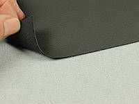 Биэластик, кожзам тягучий графит (очень темно-серый), для перетяжки салона авто
