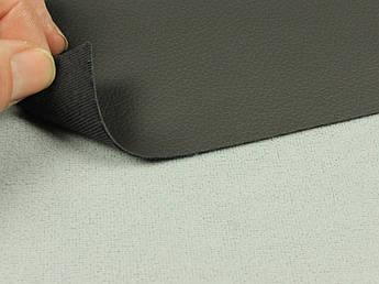 Биэластик, кожзам тягучий графит (bl-2), очень темно-серый для перетяжки салона авто