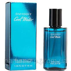 Davidoff Cool Water Men (40мл), Мужская Туалетная вода  - Оригинал!