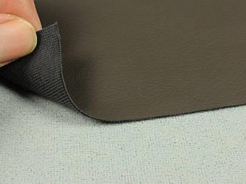 Биэластик, кожзам тягучий темно-корычневый (bl-3), для перетяжки салона авто