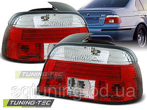Задние фонари BMW E39 09.95-08.00 RED WHITE