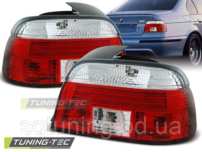 Задні ліхтарі BMW E39 09.95-08.00 RED WHITE