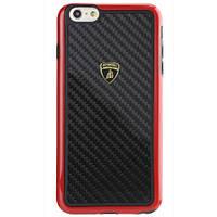 Накладка для iPhone 6 / 6S пластик Lamborghini Elemento D2 Red (LB-TPUPCIP6S-EL / D2-RD)