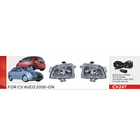 Противотуманные фары Vitol CV-247W Chevrolet Aveo 2006-08