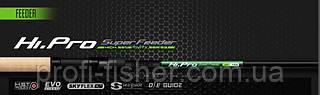 Фидерное удилище ZEMEX Hi Pro Feeder 3,9м до 120 гр - Южная Корея
