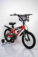 """Велосипед """"NEXX BOY-16""""Оранжевый-Сплэш(двухколесный)."""