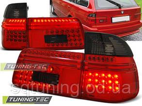 Задние фонари BMW E39 97-08.00 TOURING RED SMOKE LED