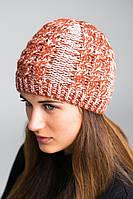Стильная теплая зимняя шапка оптом