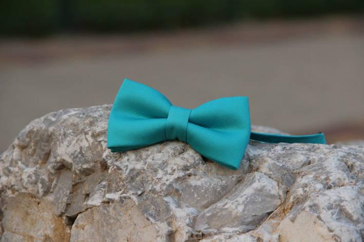 Галстук-бабочка i&m хлопок (0001B) Light blue, фото 2