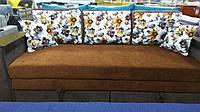 Прямой диван, выкатной диван, ортопедический диван