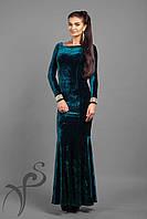 Вечернее платье в пол Silva