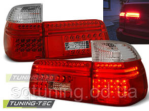 Задние фонари BMW E39 97-08.00 TOURING RED WHITE LED