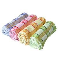 Кухонные полотенца Золотая полоска хлопок 20 шт в уп. Размер 25х50 оптом