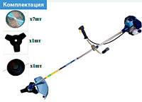 Мотокоса БГ-5500 бренд Байкал Profi (2 ножа + 1 катушка)