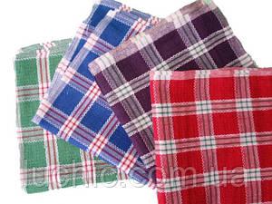 Темные вафельные полотенца 35х65 в упаковке 12 шт. хлопок