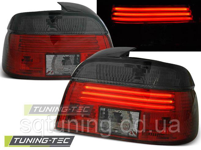 Задні ліхтарі BMW E39 09.95-08.00 RED LED SMOKE