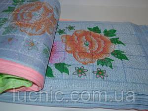 Кухонное полотенце 100шт в упаковке синтетика Размер 35х70 оптом большой опт самая дешевая цена 7км