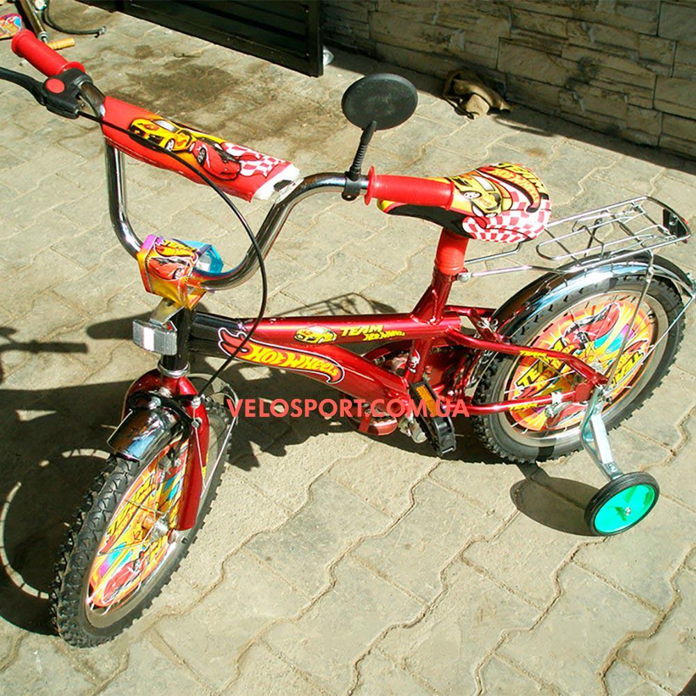Детский велосипед Mustang Hotwheels 18 дюймов