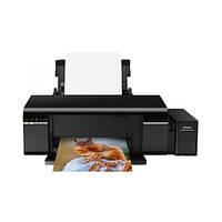 Принтер (струйный) Epson L805 Wi-Fi Black (C11CE86403)