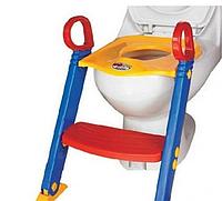Детская сидушка на унитаз со ступенькой