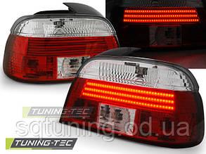 Задние фонари BMW E39 09.95-08.00 RED WHITE LED