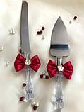 Нож и лопатка для свадебного торта , фото 2