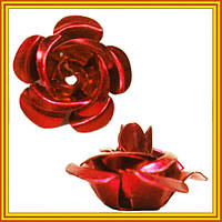Новое Поступление: Розы Большие 3D Алюминиевые для Бижутерии. Коды 6223
