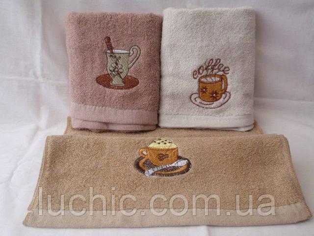 Кофейные чашки 10 шт в уп. Размер 35х70 100% хлопок кухонное полотенце оптом