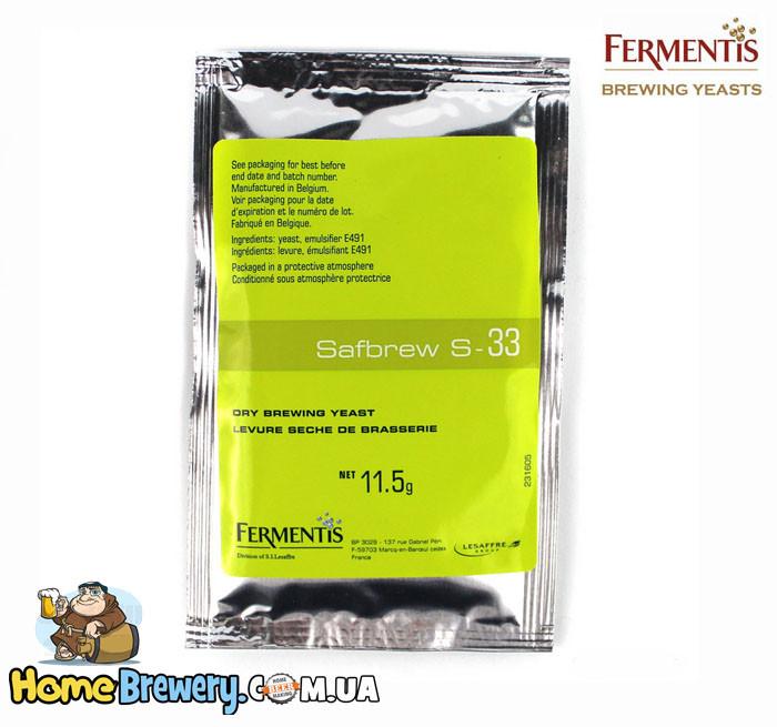 Пивные дрожжи Fermentis Safbrew S-33