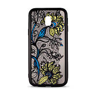 Накладка для Samsung Galaxy J330 J3 2017 силікон Widow Case MiaMI Blossom