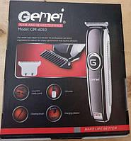 Аккумуляторная машинка для стрижки волос триммер, электробритва для бороды Gemei GM-6050
