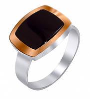 Серебряное кольцо с ониксом