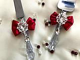Лопатка и нож для свадебного торта , фото 2