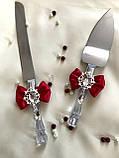 Лопатка и нож для свадебного торта , фото 3